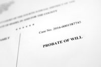 probate of will court documents