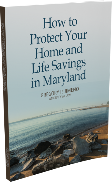 How to Protect Your Home and Life Savings in Maryland book cover