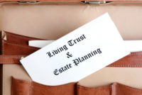 living trust and estate planning documents md