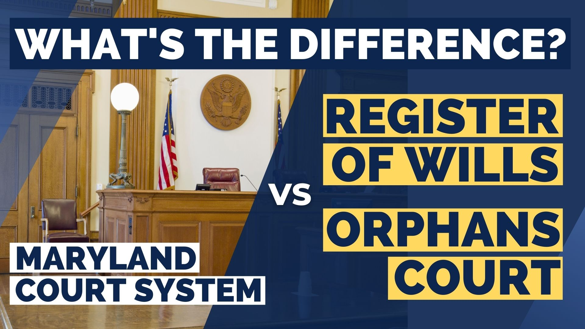register of wills vs orphans court in maryland